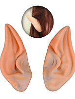 2016 Latex Fairy Pixie Elf Ears Cosplay Accessories LARP Halloween Party Latex Soft Pointed Prosthetic Tips Ear