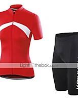 KEIYUEM® Велокофты и велошорты унисекс Короткие рукава ВелоспортДышащий / Быстровысыхающий / Защита от пыли / Пригодно для носки / Сжатие