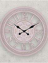 Ретро Прочее Настенные часы,Круглый Стекло 16*16*1.8 В помещении Часы