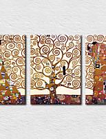 Leinwand-Set Berühmte Modern,Drei Paneele Leinwand Vertikal Druck-Kunst Wand Dekoration For Haus Dekoration