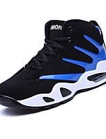 Men's Sneakers Spring / Fall Comfort Fabric Casual Flat Heel  Blue / Black and Red / Black and White Sneaker