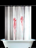 Polyester  Halloween Thicken Waterproof Shower Curtains Bathroom Curtains