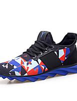 SM-7700 Беговые кроссовки Муж. Противозаносный / Anti-Shake / Амортизация / Вентиляция / Пригодно для носки Кожа ПВХ  РезинаБег / Спорт в