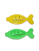 Cute Baby Fish Type Thermometer Temperature Meter Wet-bis (Random Delivery) With the Baby Water Temperature Gauge