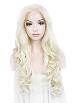 IMSTYLE 26 Blonde Mixed Water Wave Lace Front Wigs