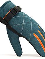 homens inverno luvas quentes ao ar livre ciclismo esqui e mais grosso vento frio motocicleta luvas quentes de pelúcia