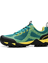 Men's Athletic Shoes Fall Flats PU Outdoor Athletic Flat Heel Others Blue Yellow Green Hiking