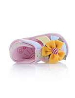 Girl's Sandals Summer Cotton Outdoor Flat Heel Others Blue Yellow Pink Others