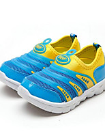 Boy's Sneakers Fall Tulle Casual Flat Heel Others Blue Yellow Other