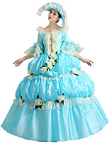 Steampunk@Royal Dress Silvery Blue Costume Fashion Clothing Fashion Party Dress