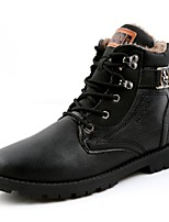 Men's Boots Fall / Winter Fashion Boots / Work & Safety / Combat Boots Outdoor / Casual Flat Heel Lace-up