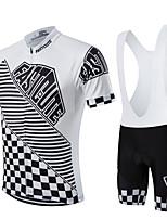 Deportes® Maillot de Ciclismo con Shorts Bib Mujer / Hombres / Unisex Mangas cortasTranspirable / Secado rápido / Permeabilidad a la