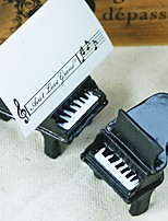 4pcs Piano Place Card Holders / Escort Cards / Name Cards / Beter GiftsWedding Decorations