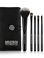 7 Makeup Brushes Set Horse /Travel / Full Coverage / Horse Hair / Portable Wood Face / Eye / Lip MAKE-UP FOR YOU
