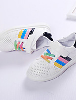 Boy's Flats Summer Comfort / Round Toe PU Casual Flat Heel Others / Lace-up Black / Pink / Red Others