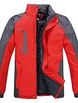 Hiking Softshell Jacket Unisex Waterproof / Breathable / Thermal / Warm / Windproof / Wearable / Sweat-wicking Tactel