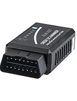 v1.5 detector de obd2 bluetooth elm327 el consumo de combustible del coche