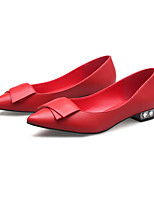 Women's Flats Spring / Summer / Fall / Winter Comfort / Pointed Toe / Closed Toe  Casual Flat Heel Bowknot