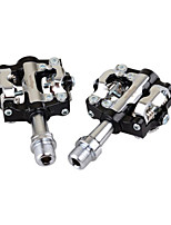 Bike Pedals Mountain Bike/MTB Non-Skid Black Aluminium Alloy 1-SIDEBIKE