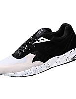 Черный Синий Серый-Мужской-Для занятий спортом-Тюль-На плоской подошве-Удобная обувь-Кеды