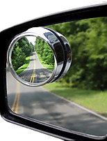 360 Degrees Adjustable Aar of Small Round Mirror Auxiliary Mirror Blind Spot Wide Angle Lens