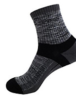 Ski Socks Unisex Breathable / Thermal / Warm / Wearable / Anti-skidding/Non-Skid/Antiskid / Sweat-wicking / Comfortable SnowboardCotton /
