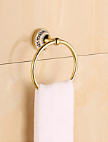 Towel Ring / Gold / Wall Mounted /14*10*8cm /Stainless Steel / Zinc Alloy /Contemporary /14cm 10cm 0.24