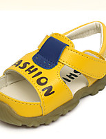 Unisex Sandals Summer Sandals / Open Toe Leatherette Casual Flat Heel Others Blue / Yellow / White Others