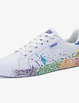 Unisex Sneakers Spring / Fall Comfort PU Casual Flat Heel  Black / Blue / Green Sneaker