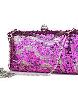 L.west Women Elegant High-grade Sequins Inlaid Diamonds Evening Bag