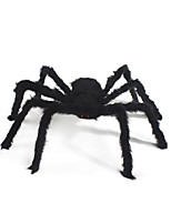 1PC Plush Spider for Halloween Costume Party Random Color