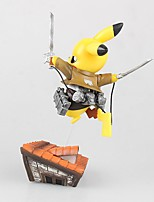 Pocket Monster PIKA PIKA PVC 8cm Anime Action Figures Model Toys Doll Toy