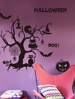 Halloween Wall Stickers Skull Pumpkin Bat Decorating Tools Wallpaper Room Wall Halloween Party Supplies