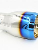 bil svans halsen ändring 73 kaliber stor mun modifierad avgasröret av rostfritt stål