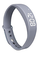 Silent Alarm Vibrate Sleep Monitor Running Pedometer To Track Calories intelligent Sports Bracelet