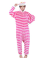 Kigurumi Pajamas Chesire Cat Leotard Onesie Halloween Animal Sleepwear  Polar Fleece Kigurumi Unisex Halloween Character