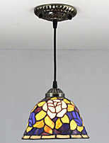 25W Pendant Light   Vintage / Country Painting Feature for Mini Style Metal Living Room /