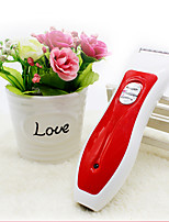 Dog Grooming Clipper & Trimmer Pet Grooming Supplies Wireless / Low Noise / Electric / Rechargeable Red Plastic