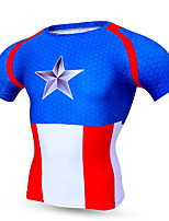 Sports® Cycling Jersey Men's Short Sleeve Breathable / Quick Dry / Comfortable Bike Tops Terylene Classic Spring / Summer / Fall/Autumn