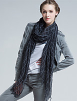Alyzee  Women Wool Blend ScarfFashionable Jewelry-B5035