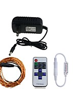 KWB 10 M 100  Waterproof Remote Control Dimmable W String Lights DC12 V