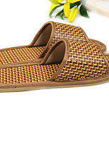 Women's Slippers & Flip-Flops Summer Slingback Synthetic Casual Flat Heel Others Brown Others