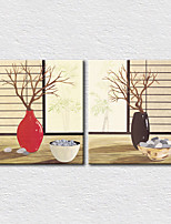 Canvas Set Still Life Modern,Two Panels Canvas Square Print Wall Decor For Home Decoration