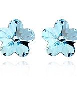 Thousands of colors Earring FlowerJewelry 1 pair Fashionable Alloy Silver Party / Daily