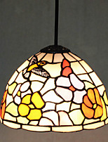 25W Pendant Light   Modern/Contemporary / Tiffany Painting Feature for Mini Style Metal Living Room / Kitchen