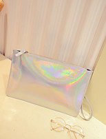 Women PVC Casual Clutch
