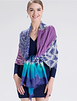 Alyzee Women Wool Blend ScarfFashionable Jewelry-B5058