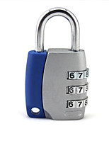 Travel Luggage Lock / Coded Lock Luggage Accessory Alloy