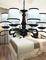 Europe type 6 lamp designers modern metal living room/bedroom/restaurant/corridor