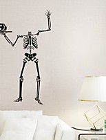 AYA DIY Wall Stickers Wall Decals Halloween Decoration Skull Type PVC Panel Wall Stickers 99*65cm